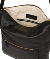 'Tenley' Black Leather Shoulder Bag image 4