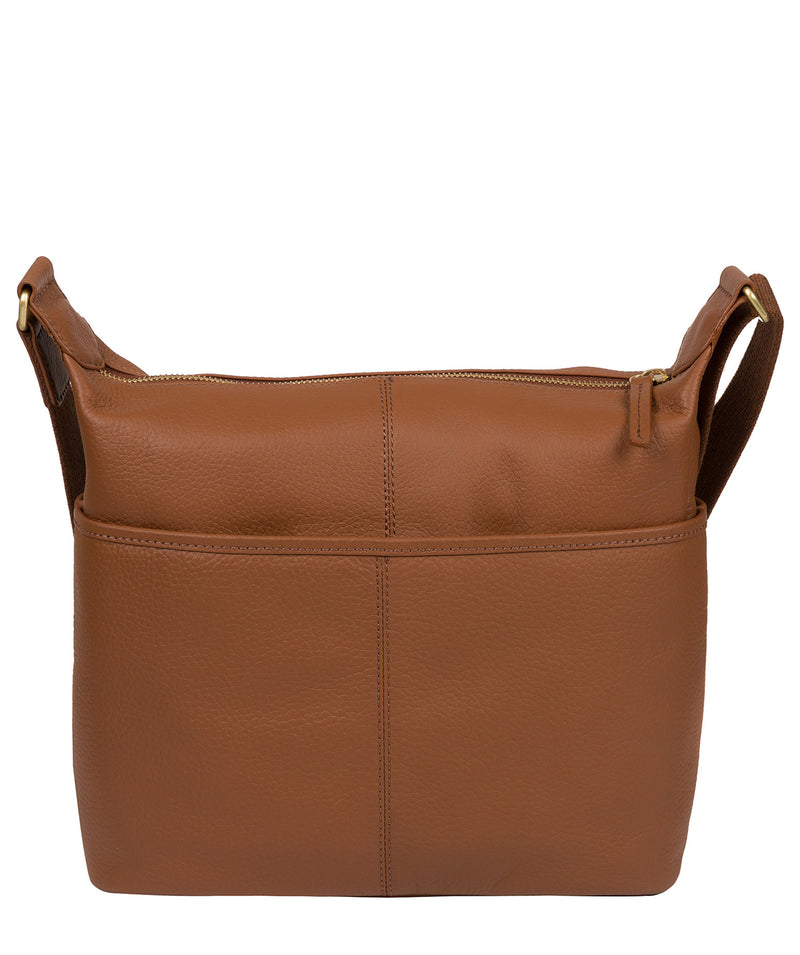 'Hove' Tan Leather Shoulder Bag image 3
