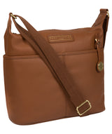 'Hove' Tan Leather Shoulder Bag image 5