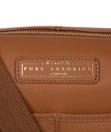 'Hove' Tan Leather Shoulder Bag image 6