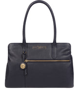 'Darby' Navy Leather Handbag image 1