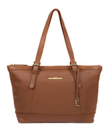 'Thame' Tan Leather Tote Bag image 1