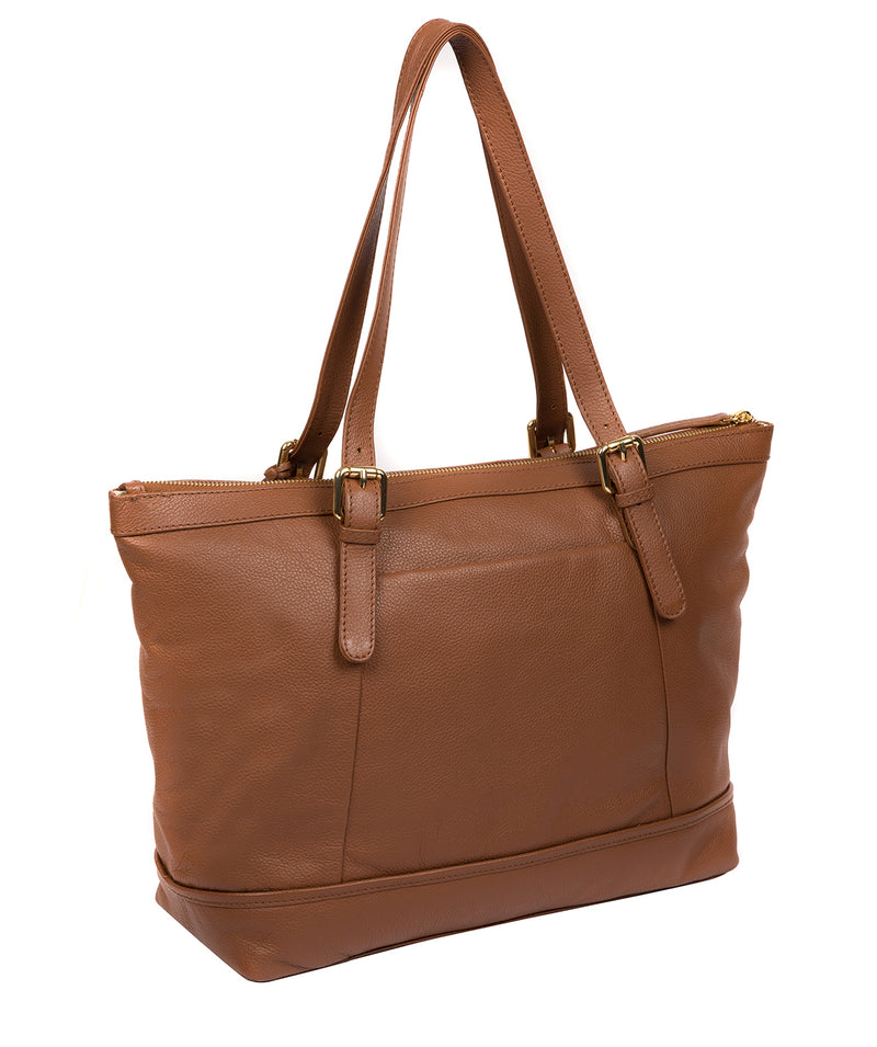 'Thame' Tan Leather Tote Bag image 3