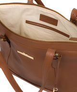 'Thame' Tan Leather Tote Bag image 4