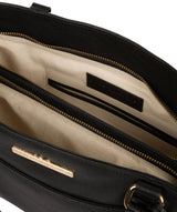 'Leiston' Black Leather Handbag image 4