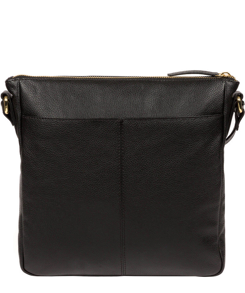 'Holbroke' Black Leather Shoulder Bag image 3