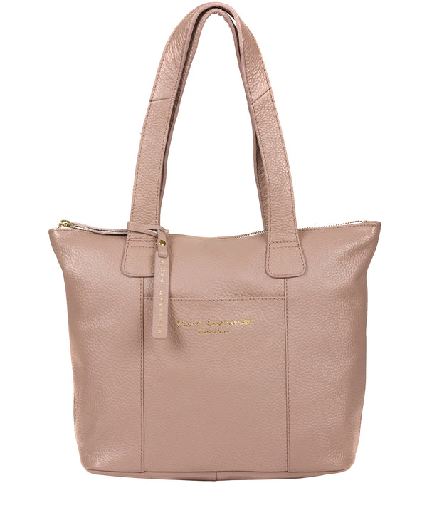 'Dem' Blush Pink Leather Handbag image 1