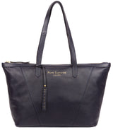 'Kelly' Ink Leather Tote Bag image 1