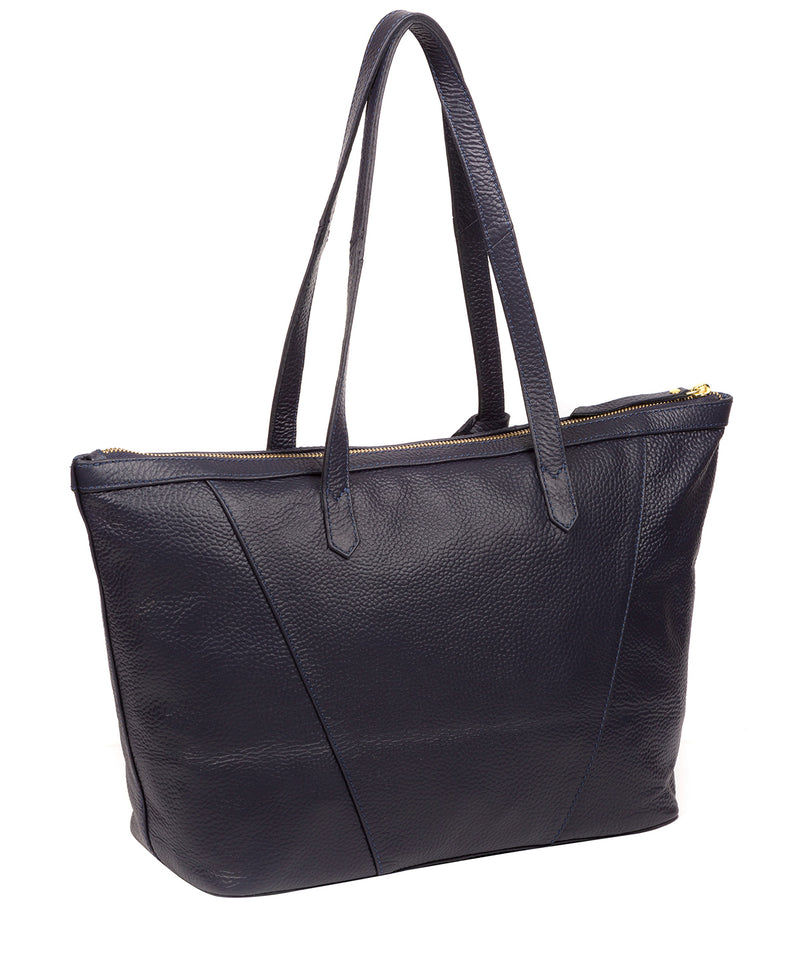 'Kelly' Ink Leather Tote Bag image 3