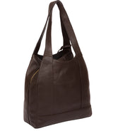'Colette' Chocolate Leather Handbag image 3