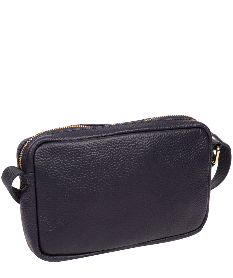'Laine' Ink Leather Cross Body Bag image 3