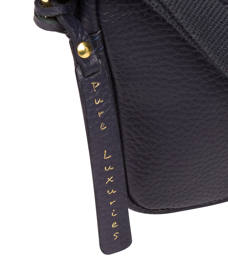'Laine' Ink Leather Cross Body Bag image 5