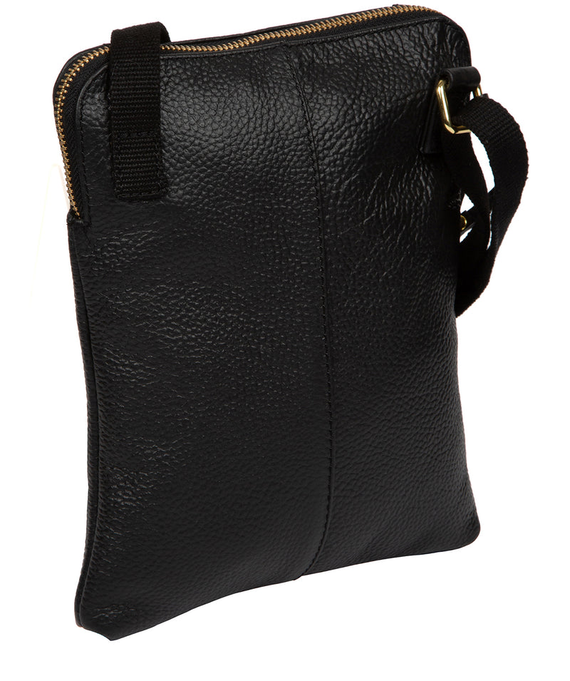 'Maisie' Black Leather Cross Body Bag  image 3