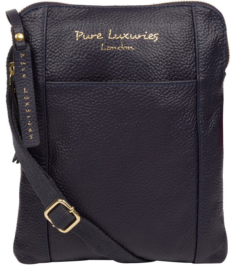 'Maisie' Ink Leather Cross Body Bag  image 1