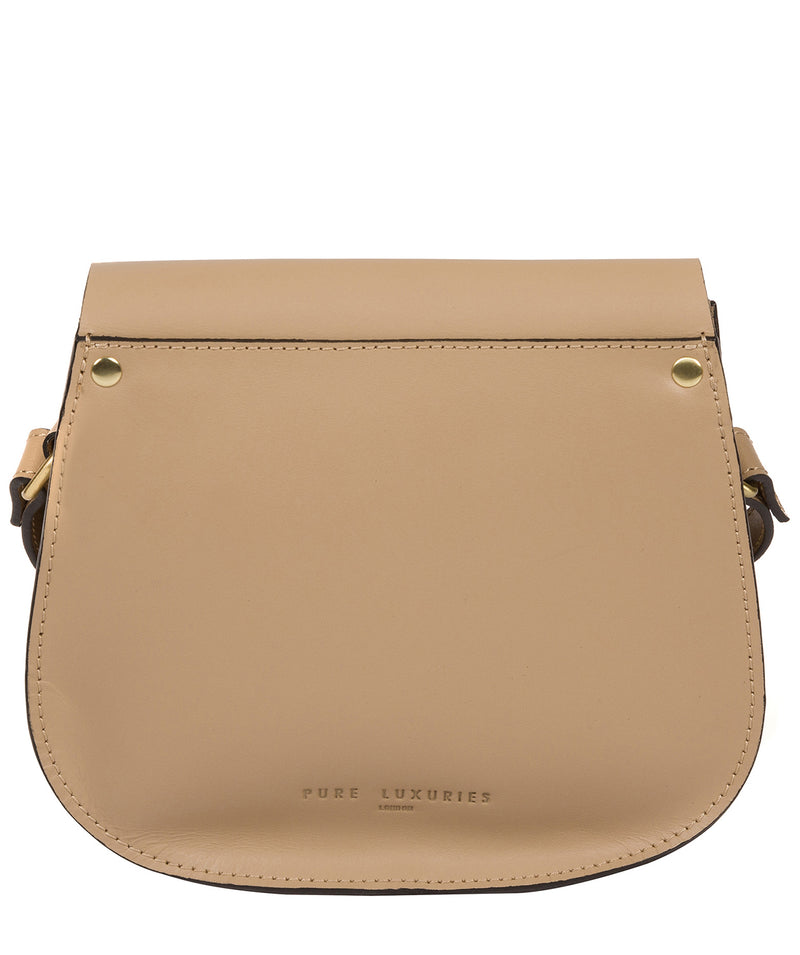 'Coniston' Beige Leather Cross Body Bag image 3