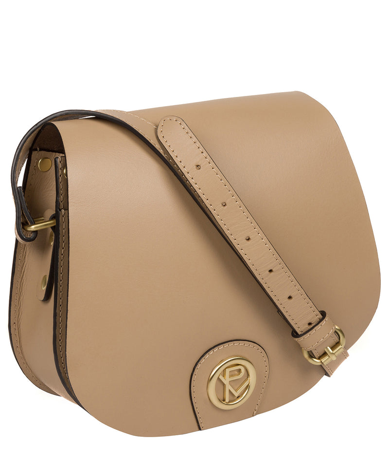 'Coniston' Beige Leather Cross Body Bag image 5