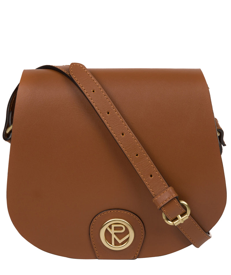 'Coniston' Tan Leather Cross Body Bag image 1