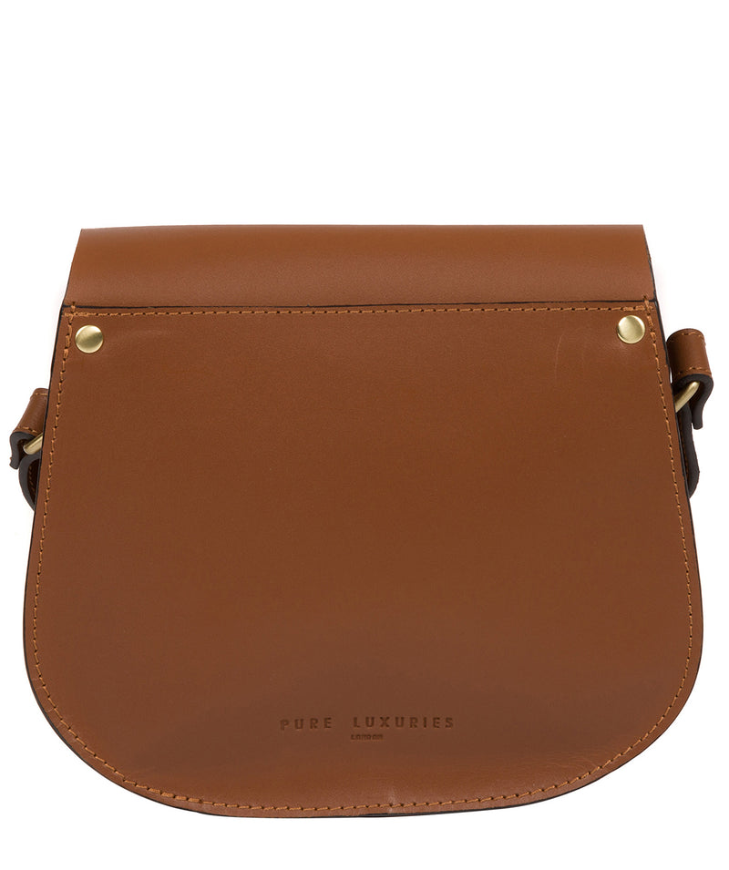 'Coniston' Tan Leather Cross Body Bag image 3