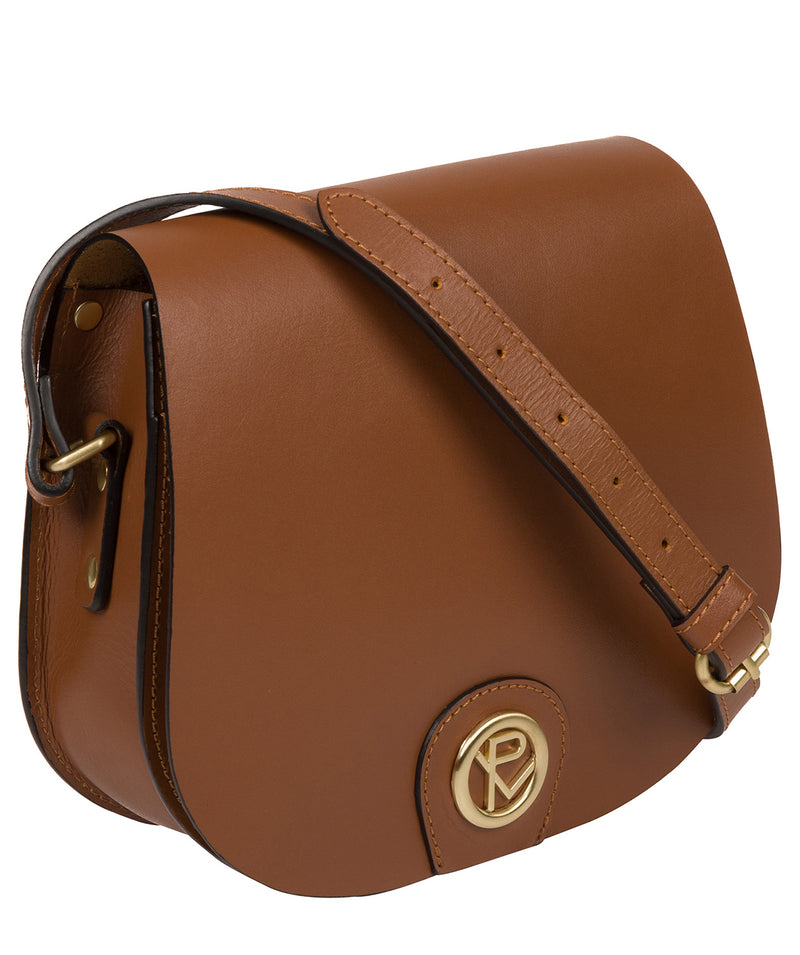 'Coniston' Tan Leather Cross Body Bag image 5