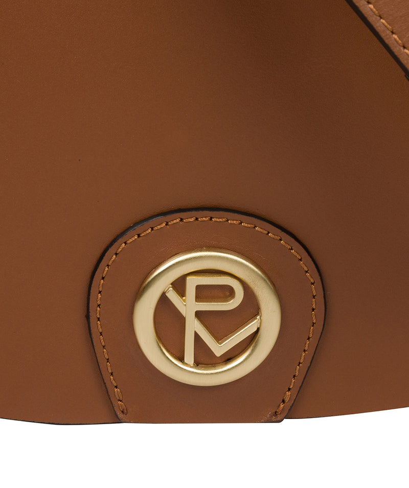 'Coniston' Tan Leather Cross Body Bag image 6