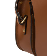 'Coniston' Tan Leather Cross Body Bag image 7