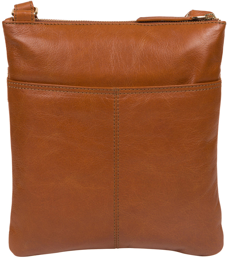 'Briony' Hazelnut Leather Cross Body Bag image 3