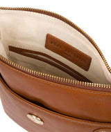 'Briony' Hazelnut Leather Cross Body Bag image 4