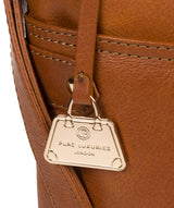 'Briony' Hazelnut Leather Cross Body Bag image 6