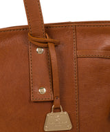 'Calista' Hazelnut Leather Tote Bag image 6