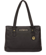 'Linton' Black & Gold Leather Handbag  image 1