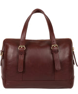 'Iris' Chestnut Leather Handbag image 3