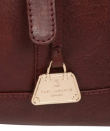 'Iris' Chestnut Leather Handbag image 6