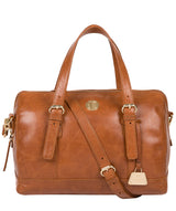 'Iris' Hazelnut Leather Handbag image 1