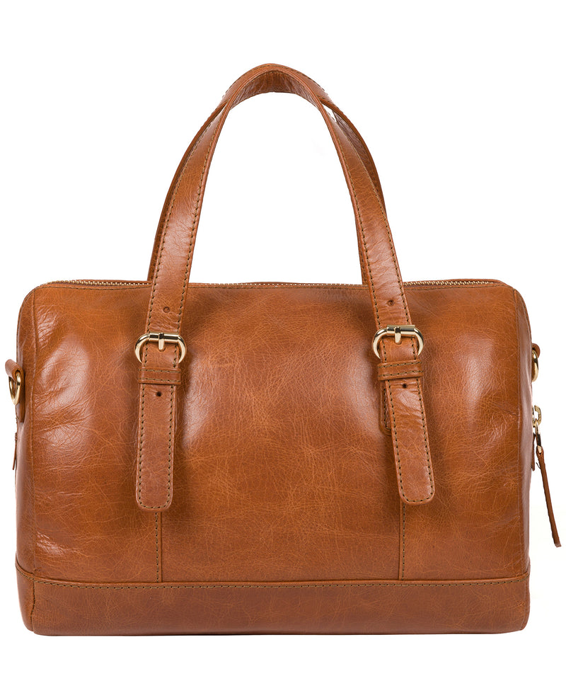'Iris' Hazelnut Leather Handbag image 3