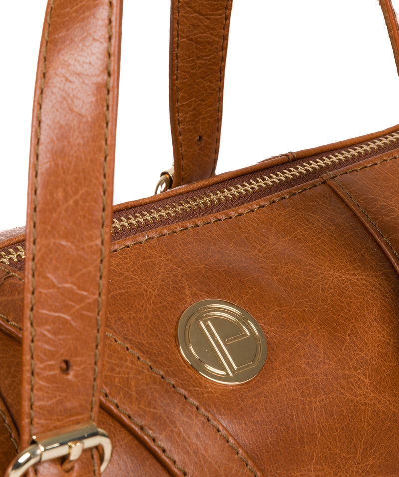 'Iris' Hazelnut Leather Handbag image 7