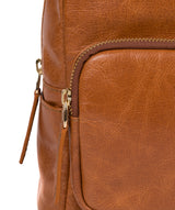'Cora' Hazelnut Leather Backpack image 7