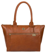'Primrose' Hazelnut Leather Tote Bag image 1