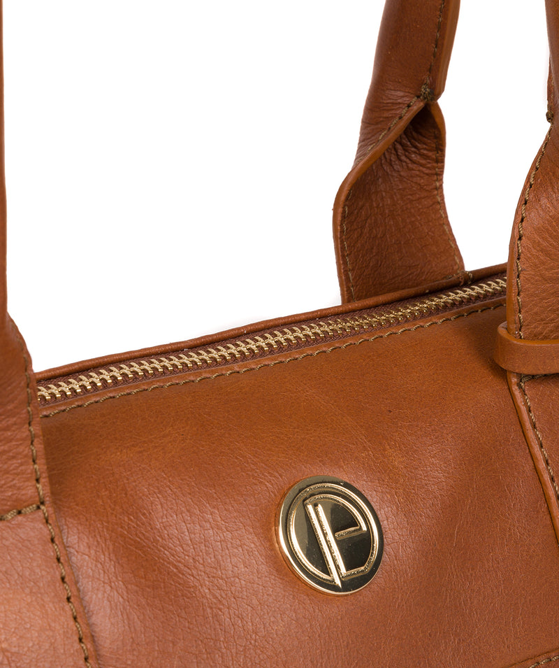 'Primrose' Hazelnut Leather Tote Bag image 7