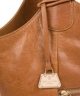 'Mimosa' Saddle Tan Leather Tote Bag image 6