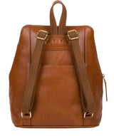 'Verbena' Hazelnut Leather Backpack image 3