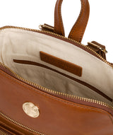 'Verbena' Hazelnut Leather Backpack image 4