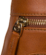 'Verbena' Hazelnut Leather Backpack image 6