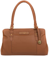 'Epworth' Tan Leather Handbag image 1