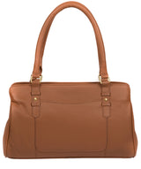 'Epworth' Tan Leather Handbag Pure Luxuries London