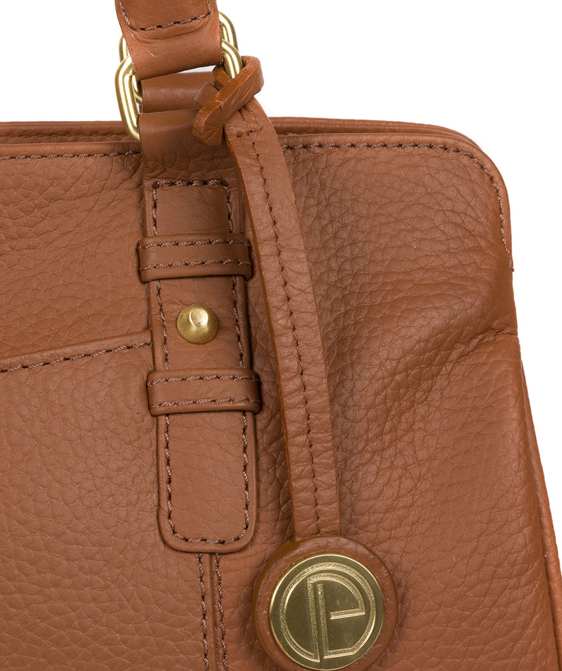 'Epworth' Tan Leather Handbag image 6