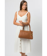 'Epworth' Tan Leather Handbag image 7