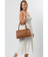 'Epworth' Tan Leather Handbag image 2