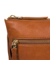 'Gardenia' Hazelnut Leather Cross Body Bag image 7