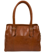 'Fleur' Hazelnut Leather Handbag image 3