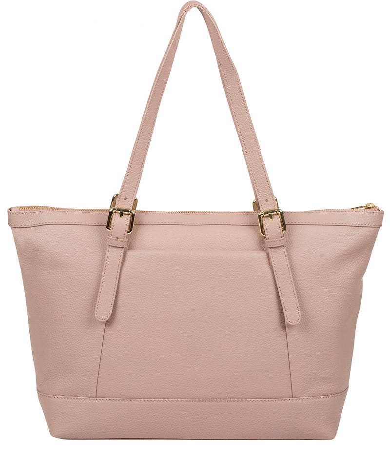 'Emily' Blush Pink Leather Tote Bag image 3